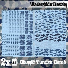 Waterslide Decals - Classic Tundra Camo