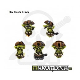 Orc Pirate Heads