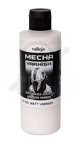 Vallejo 27702 Mecha Matt Varnish 200 ml.