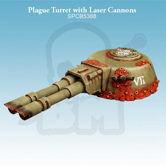 Plague Turret with Laser Cannons
