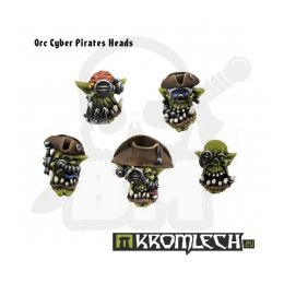 Orc Cyber Pirate Heads