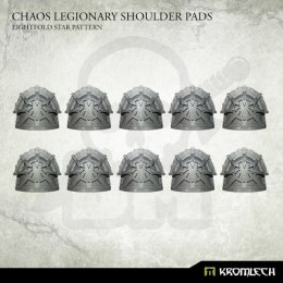 Chaos Legionary Shoulder Pads: Eightfold Star Pattern