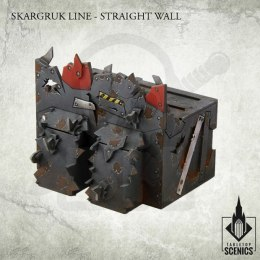 Skargruk Line – Straight wall