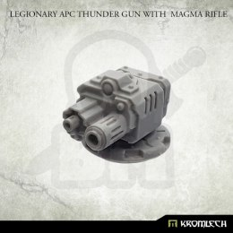 Legionary APC Thunder Gun with Magma Rifle