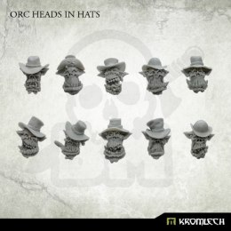 Orc Heads in Hats