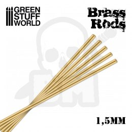 Pinning Brass Rods 1.5mm x5