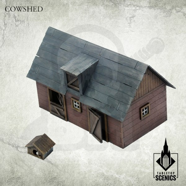 Poland 1939 Cowshed