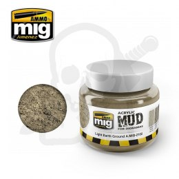 Ammo Mig 2102 Acrylic Mud Light Earth Ground 250ml