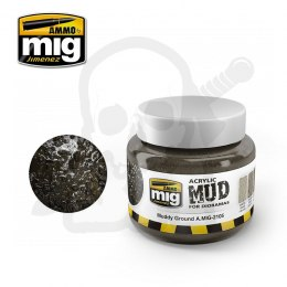 Ammo Mig 2105 Acrylic Mud Muddy Ground 250ml