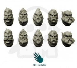 Wolves Space Knights Heads