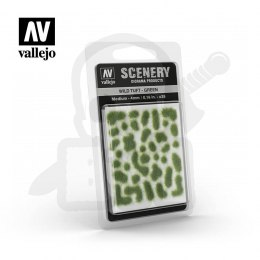 Vallejo SC406 Wild Tuft - Green 4mm