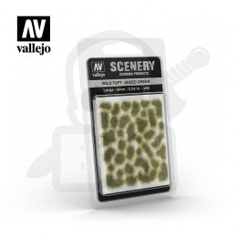 Vallejo SC416 Wild Tuft - Mixed Green 6mm