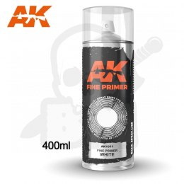 AK Interactive 1011 Fine Primer White Spray