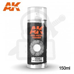 AK Interactive 1016 Fine Metal Primer Spray 150ml