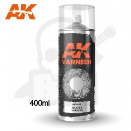 AK Interactive 1012 Gloss Varnish Spray 400ml