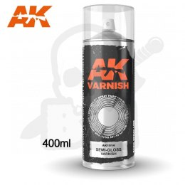 AK Interactive 1014 Semi-Gloss Varnish Spray 400ml