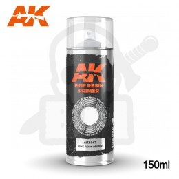 AK Interactive 1017 Fine Resin Primer Spray 150ml