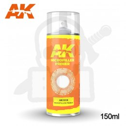 AK Interactive 1018 Microfiller Primer Spray 150ml