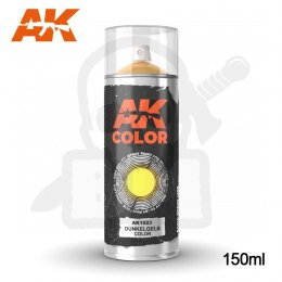 AK Interactive 1023 Dunkelgelb Color Spray 150ml