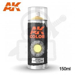 AK Interactive 1024 Sand Yellow Spray 150ml