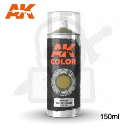 AK Interactive 1025 Olive Drab Color Spray 150ml