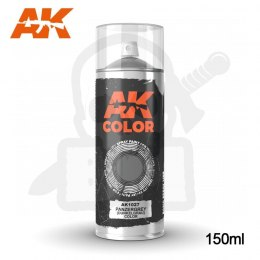 AK Interactive 1027 Panzergrey (Dunkelgrau) Color Spray 150ml