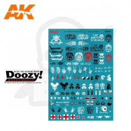 AK Interactive DZ034 Mad Max Decals