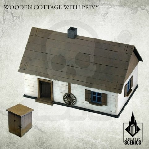 Poland 1939 Wooden Cottage with Privy
