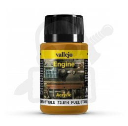 Vallejo 73814 Engine Effects 40 ml Fuel Stainse Effects 40 ml Oil Stains