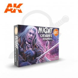 AK Interactive AK11602 Night Creatures Flesh Tone Set
