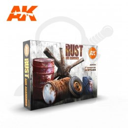 AK Interactive AK11605 Rust and Abandoned Set