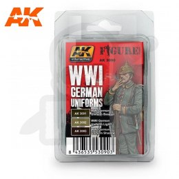AK Interactive AK3090 WWI German Uniform Set