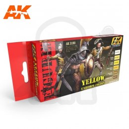 AK Interactive AK3190 Yellow Uniform Colors Set