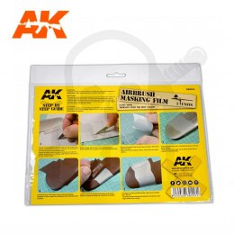 AK Interactive AK9045 Airbrush Masking Film - 2 units