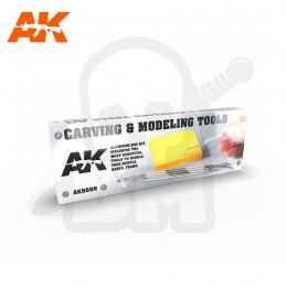 AK Interactive AK9005 Carving Tools Box