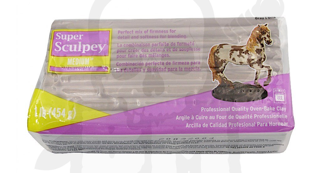 Super Sculpey Medium Blend 454 gr.