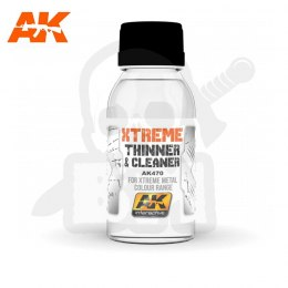 AK Interactive AK470 Xtreme Cleaner & Thinner 100ml