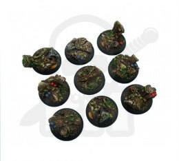 Forest Bases, Wround 30mm - 5 pcs