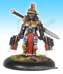 Amazonia Veteran Decurion warrior gladiator SF Wojowniczka