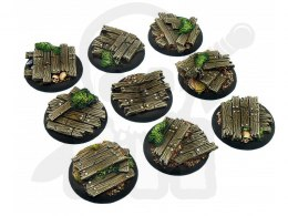 Wood Bases, WRound 30mm - 5 pcs