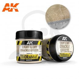AK Interactive AK8033 Light & Dry Crackle Effects 100ml
