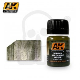 AK Interactive AK014 Winter Streaking Grime 35ml