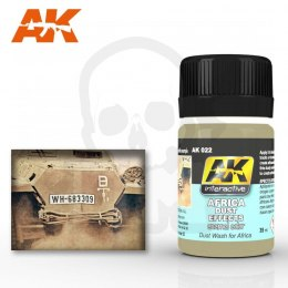 AK Interactive AK022 Africa Dust Effects 35ml