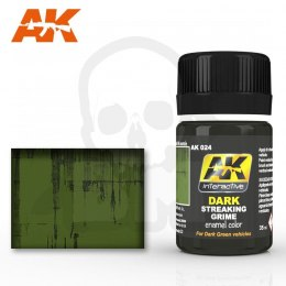 AK Interactive AK024 Dark Streaking Grime 35ml