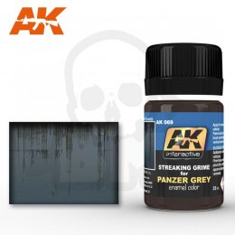 AK Interactive AK069 Streaking Grime for Panzer Grey 35ml