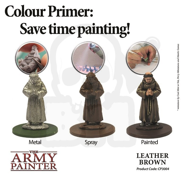 Army Painter Primer Leather Brown
