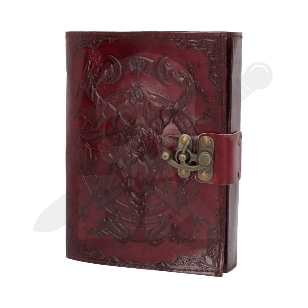 Notatnik - Baphomet Leather Journal 15x21cm
