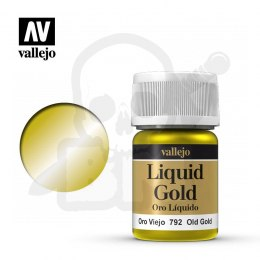 Vallejo 70792 Liquid Gold 35 ml Old Gold