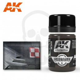 AK Interactive AK2032 Wash for Shafts and Bearings 35ml