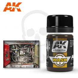 AK Interactive AK2033 Aircraft Engine Wash 35ml